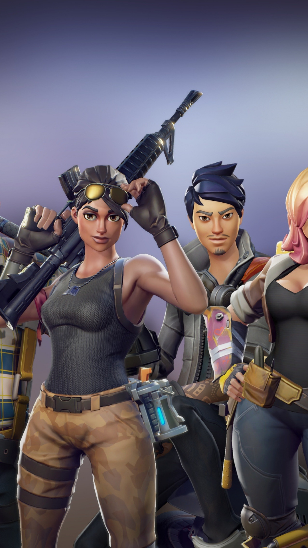 Fortnite heroes - Download 4k wallpapers for iPhone and ...