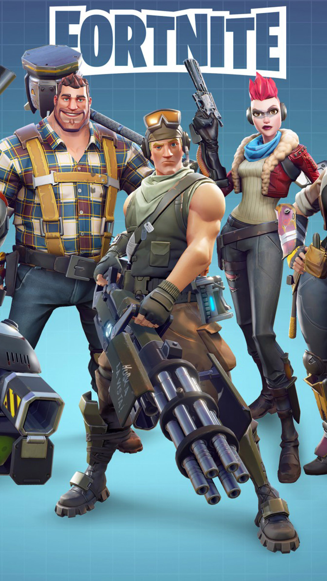 Fortnite team - Download 4k wallpapers for iPhone and Android
