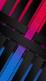 Ribbon Shapes Abstract